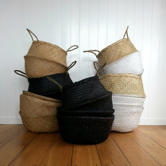 Belly Basket -  Black - MissMollyCoddle