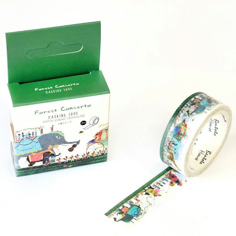 Forest Concerto Washi Tape