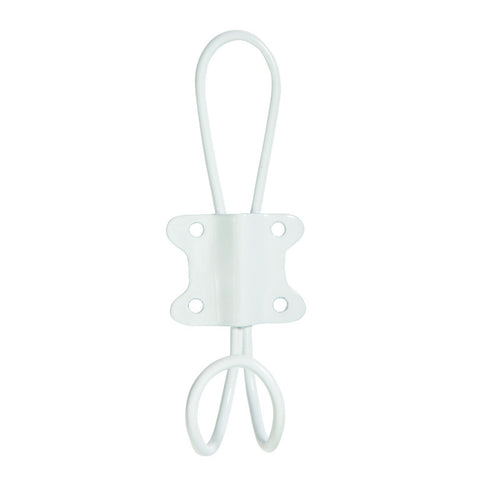 White Wire Hook - General Eclectic
