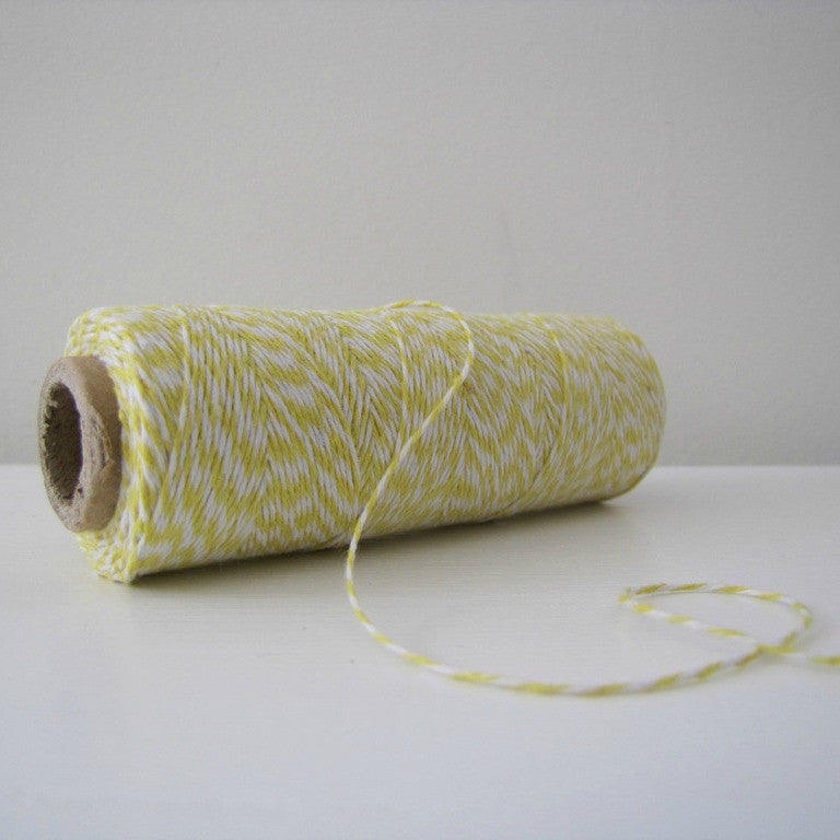 Baker's Twine - Summery Yellow