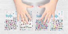 Snails Nail Stickers - Story Telling