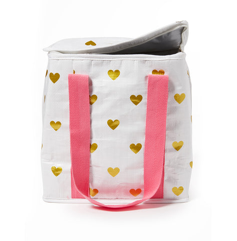 Project Ten - Hearts Insulated Shopping Bag