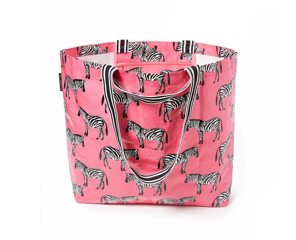 Project Ten - Zebra Medium Tote