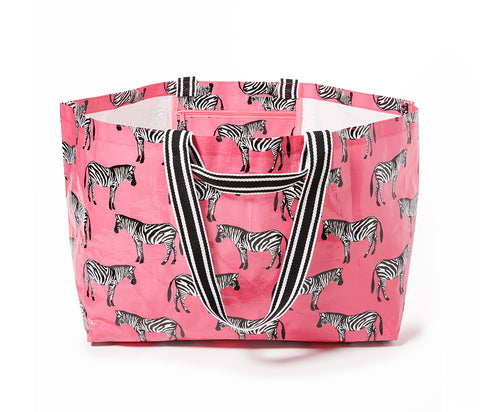 Project Ten - Zebra Oversize Tote