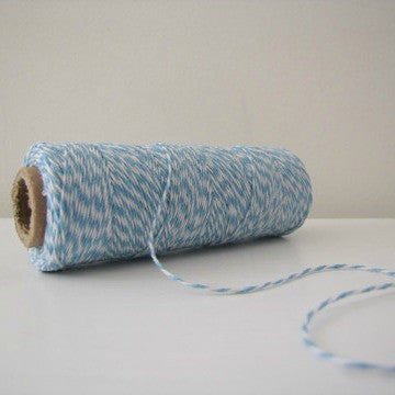 Baker's Twine - Baby Blue & White