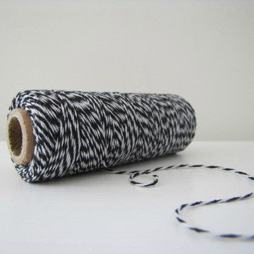 Baker's Twine - Black & White