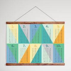 Wooden Magnetic Poster Hanger - A2 and B2