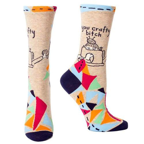 Socks - You Crafty Bitch