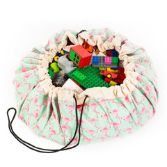 Play & Go storage bag and play mat - Flamingos LIMITED EDITION