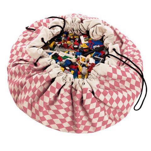 Play & Go storage bag and play mat - Diamond Pink