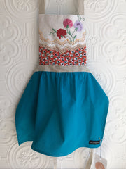 Beautiful Vintage Embroidery Apron