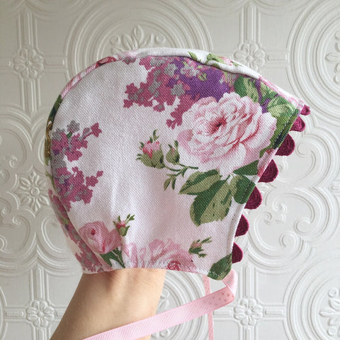 Spring baby bonnet 6-12months