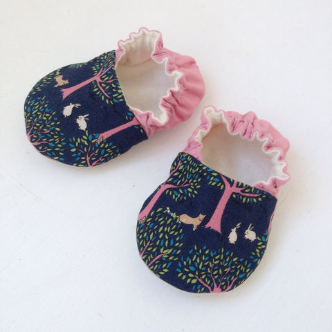 Little Bunny Baby Shoes 0 - 6 months