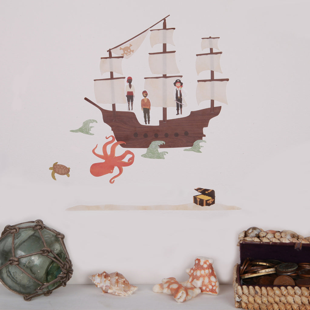 Lovemae Mini Pirate Ship Decals