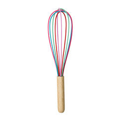 RICE Multi Coloured Whisk Large