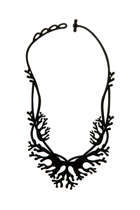 Batucada Coral Necklace