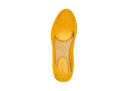 Batucada Indian Ballet Flats - Yellow