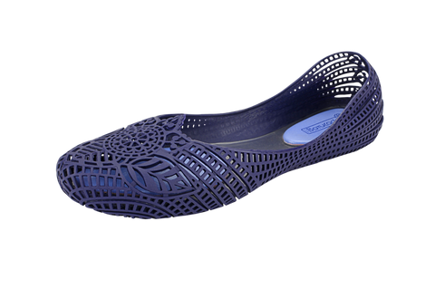 Batucada Indian Ballet Flats - Ink