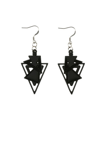 Batucada Kheops Earring - Black