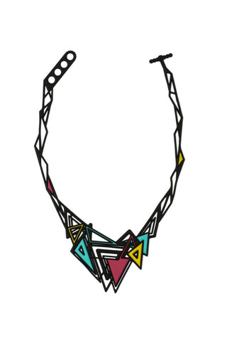 Batucada Kheops Necklace - Coral