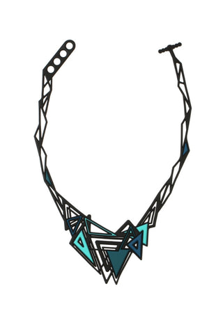 Batucada Kheops Necklace - Blue