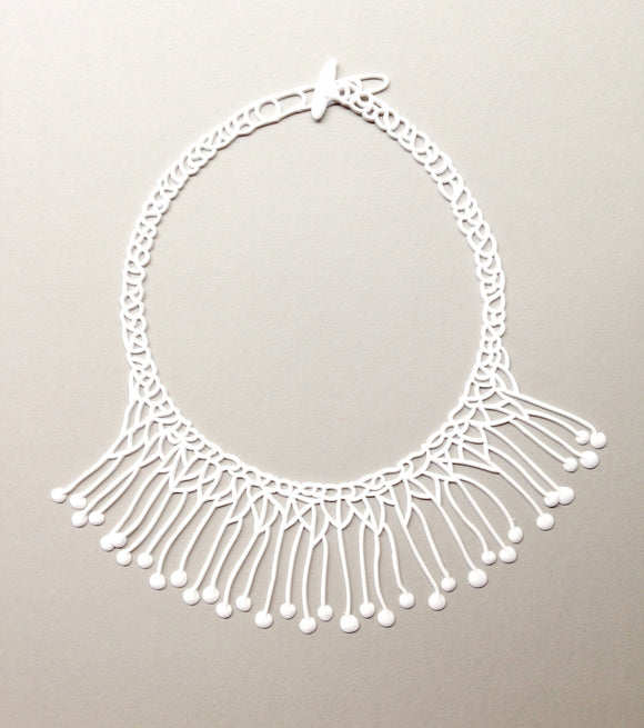 Batucada Di Maccio Necklace - white