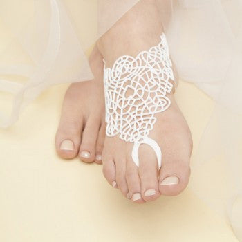 Batucada Di Maccio Foot jewel - White