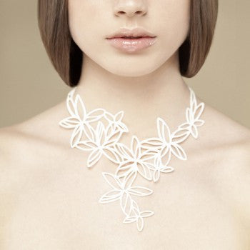 Batucada Hawaii Necklace - white
