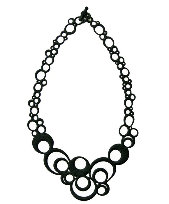 Batucada Night Bubbles Necklace - Black