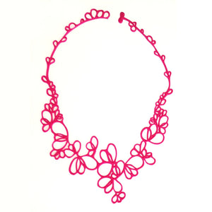 Petals Necklace Pink
