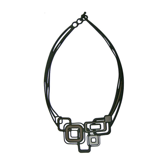 Batucada Pythagore Necklace - Grey