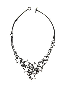 Batucada Stars Necklace - black