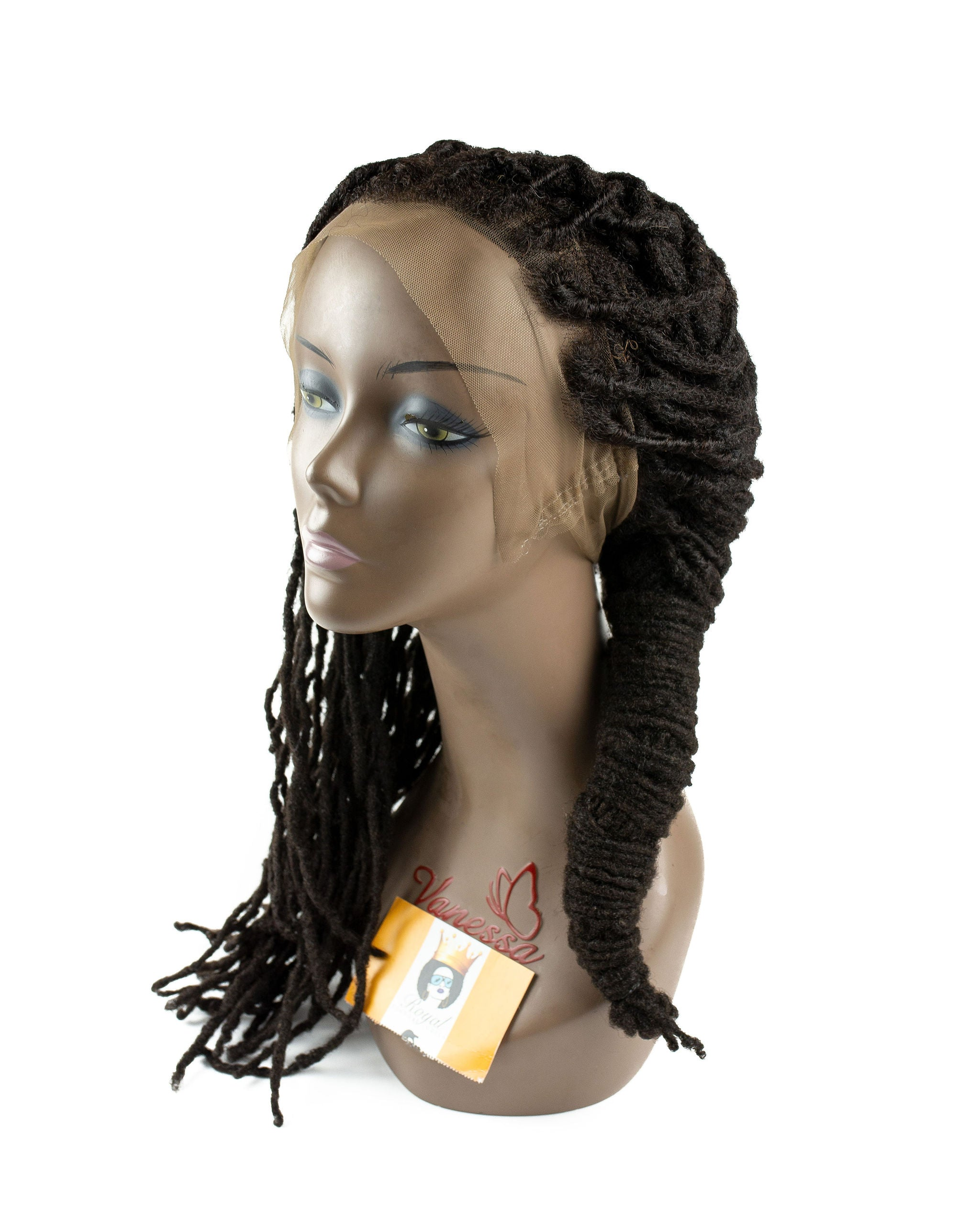18' Homegrown Full Laced Loc Wig