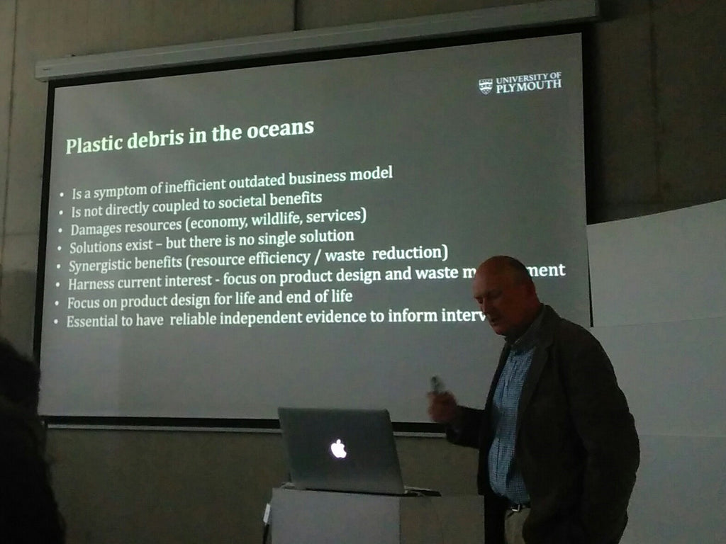 Prof Richard Thompson University of Plymouth Plastic Soup Foundation Microfiber Pollution Amberoot 7