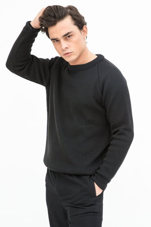 Comfy Organic Wool Sweater