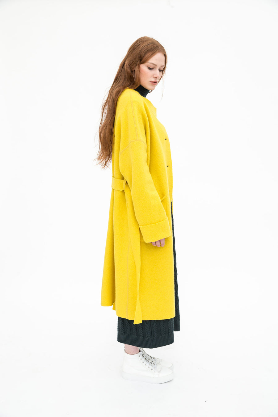 Ilyse Organic Wool Coat