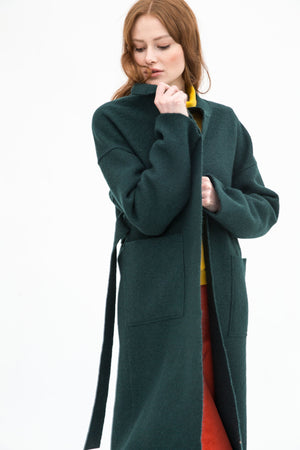Halla Organic Wool Coat