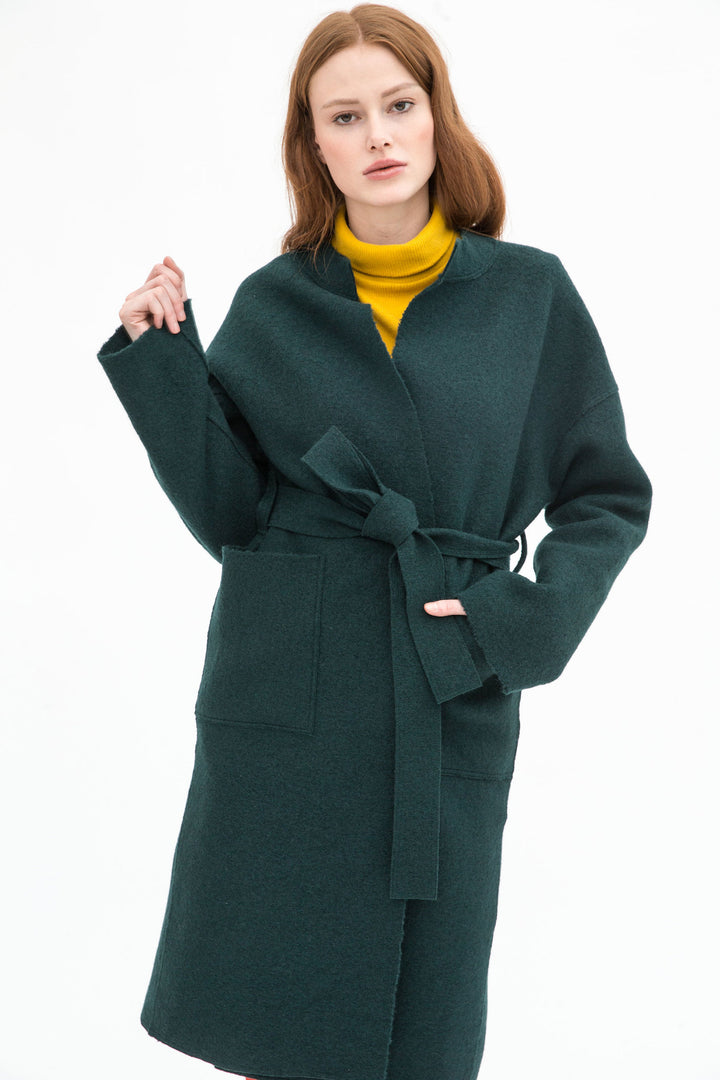 Sanikai - Halla Organic Wool Coat