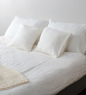 Linen Bedding Fitted Sheet