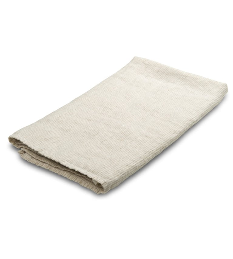 DFF - Thin White Stripes Linen Towel at Amberoot (1)