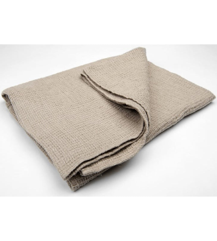 DFF - Undyed Brown Linen Towel at Amberoot (1)