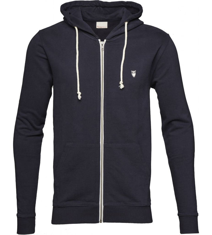 KnowledgeCotton Apparel - Basic Hood Organic Cotton Sweatshirt at Amberoot (1)