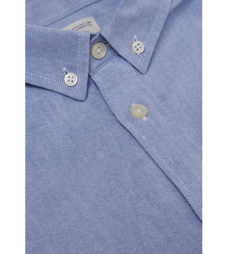 KnowledgeCotton Apparel - Button Down Oxford GOTS Organic Cotton Shirt at Amberoot (11)