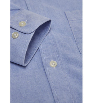 KnowledgeCotton Apparel - Button Down Oxford GOTS Organic Cotton Shirt at Amberoot (12)
