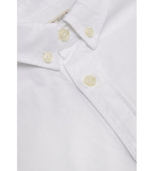 KnowledgeCotton Apparel - Button Down Oxford GOTS Organic Cotton Shirt at Amberoot (3)