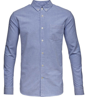 KnowledgeCotton Apparel - Button Down Oxford GOTS Organic Cotton Shirt at Amberoot (9)