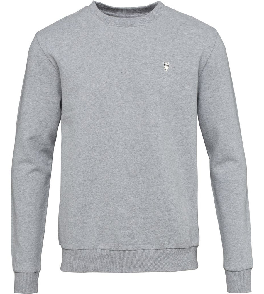 KnowledgeCotton Apparel - Casual Organic Cotton Sweatshirt at Amberoot (5)