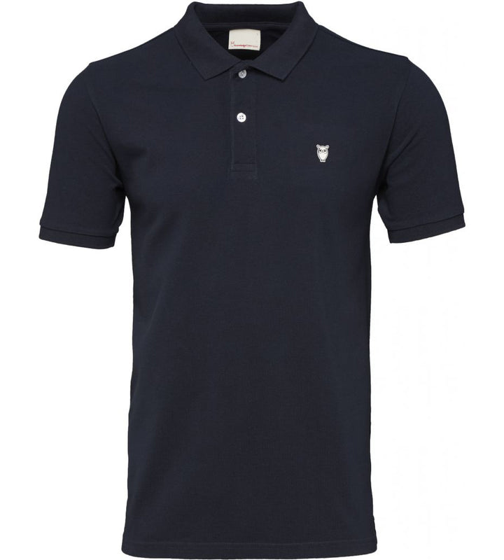 KnowledgeCotton Apparel - Organic Cotton Polo Pique at Amberoot (1)