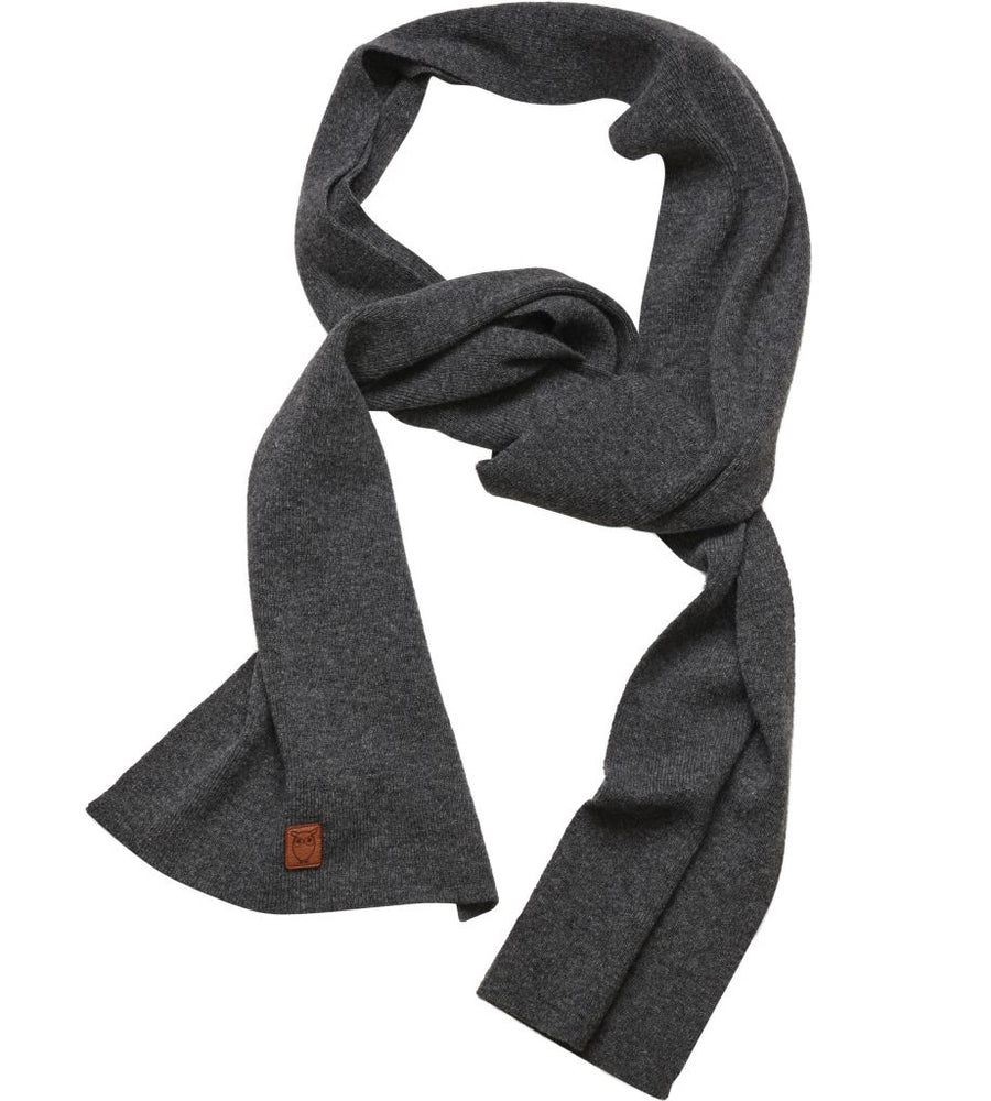 Organic Wool Solid Colour Scarf