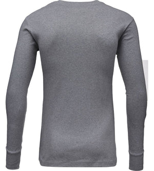 KnowledgeCotton Apparel - Rib Knit Henley GOTS Organic Cotton Shirt at Amberoot (7)